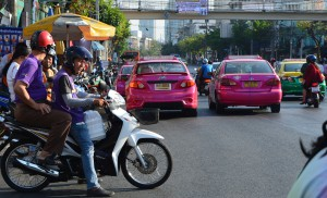 Bangkok street 1